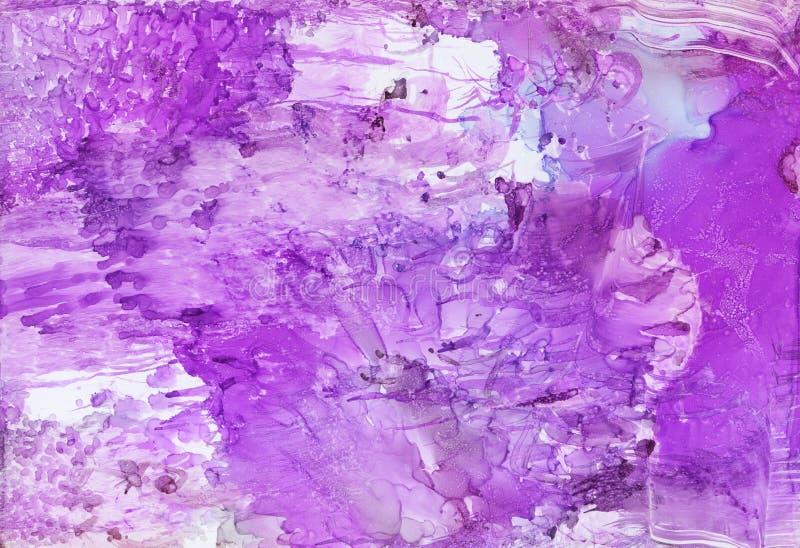 Abstrakcjonistycznej sztuki ilustracja w ?wietle, pastelowi kolory ilustracja wektor