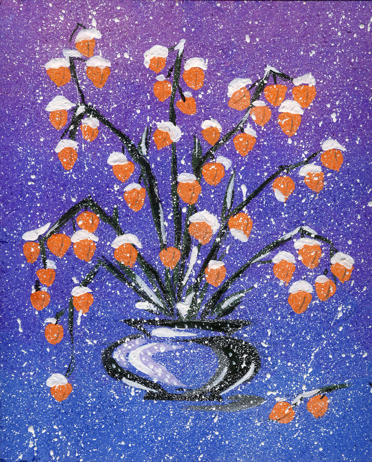 abstrakcjonistycznej sztuki nowożytny obrazek ilustracji