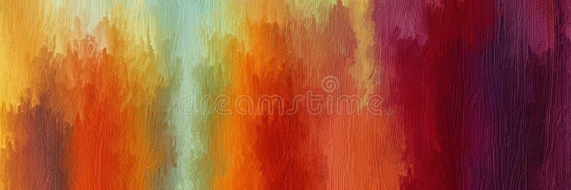 Abstrakcjonistycznej sztuki obraz olejny ilustracji