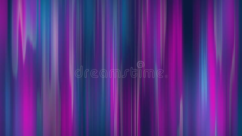 Abstrakcjonistycznej techniki technologii futurystyczny tło Neonowe rozjarzone techno linie ilustracja 3 d royalty ilustracja