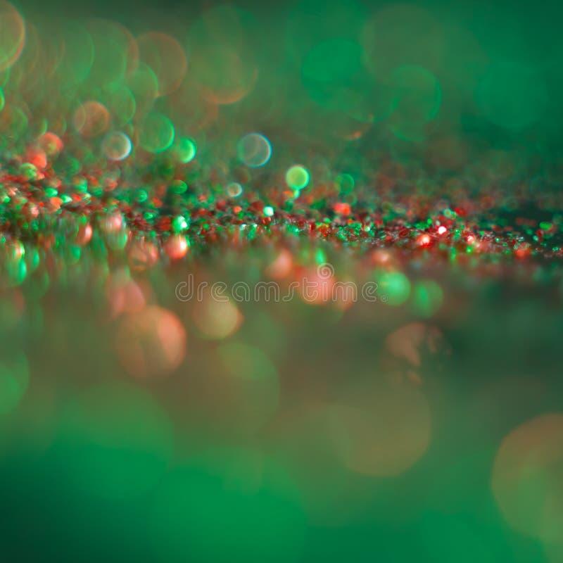 Abstrakcjonistyczni świąteczni i wakacje tła dla twój projekta defocused zdjęcie stock