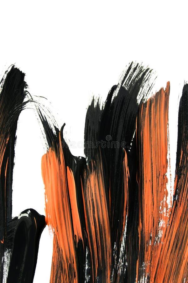Abstrakcjonistyczni akrylowi uderzenia ilustracji