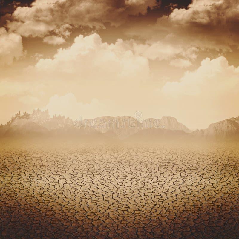 Abstrakcjonistyczni apocalypse tła zdjęcie royalty free
