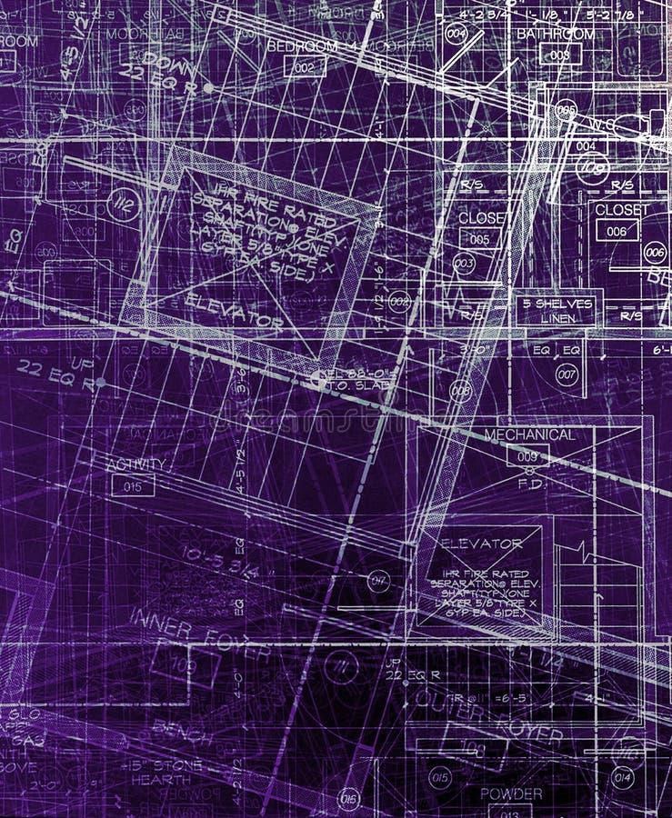abstrakcjonistyczni archecture plany fotografia stock