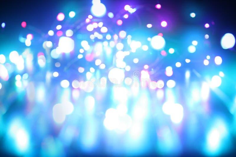 abstrakcjonistyczni błękitny światła obraz stock