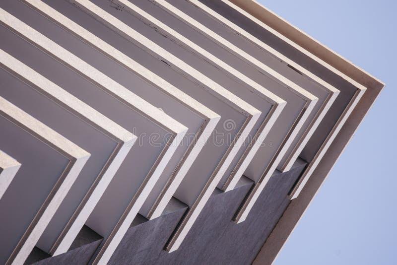 Abstrakcjonistyczni balkony szczegół obrazy royalty free