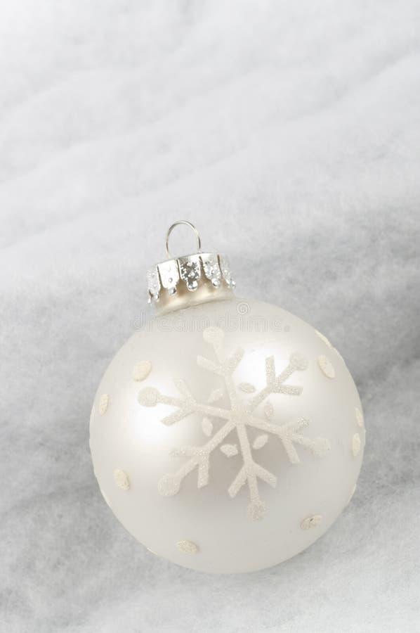 Abstrakcjonistyczni Białe Boże Narodzenia fotografia stock