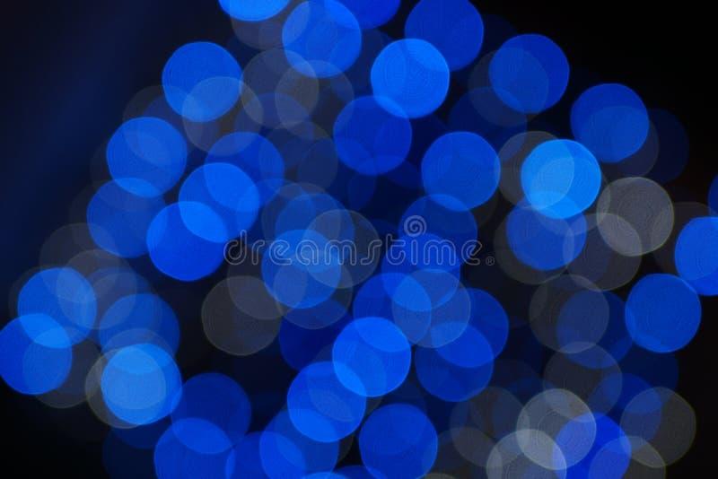Abstrakcjonistyczni bożonarodzeniowe światła fotografia stock