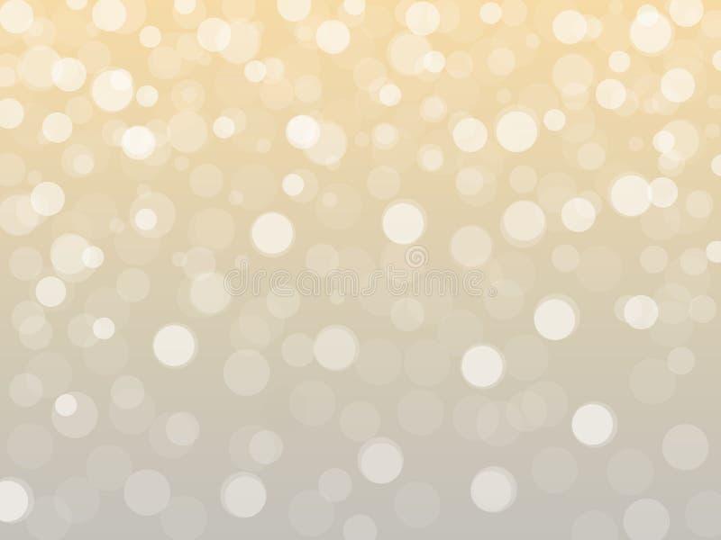 Abstrakcjonistyczni bożonarodzeniowe światła ilustracja wektor