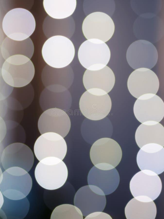 Abstrakcjonistyczni bokeh światła z miękkim światłem obraz royalty free