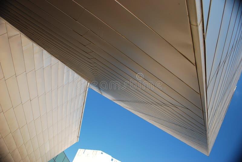 Abstrakcjonistyczni budynki zdjęcia stock