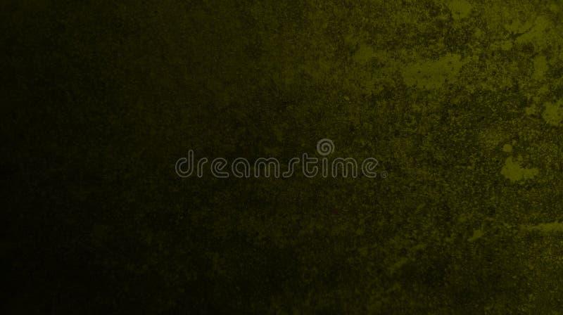 Abstrakcjonistyczni czarni mroczni zielonego koloru mikstury kolorów wielo- skutki izolują tekstury tło ilustracji