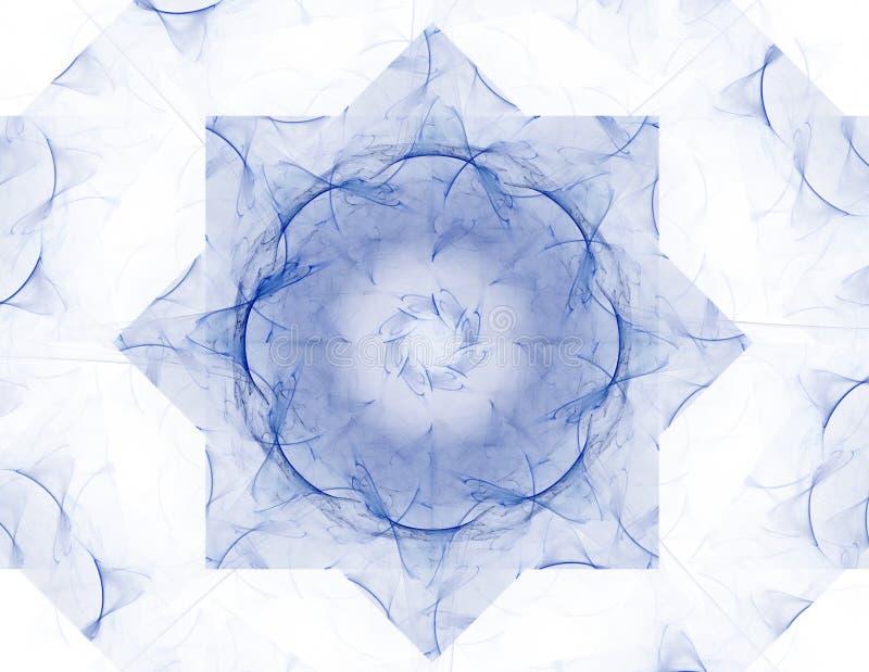 Abstrakcjonistyczni fractal wzory, kszta?ty i Fractal tekstura dla druk?w royalty ilustracja