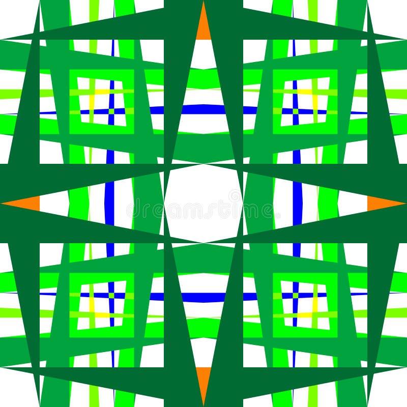 abstrakcjonistyczni geometryczni kształty ilustracja wektor