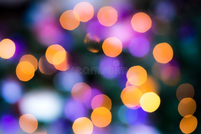 Abstrakcjonistyczni kółkowi bokeh kolorów okręgi zdjęcia royalty free