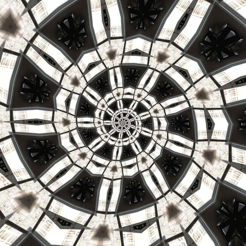 abstrakcjonistyczni kółkowi wzory obrazy stock