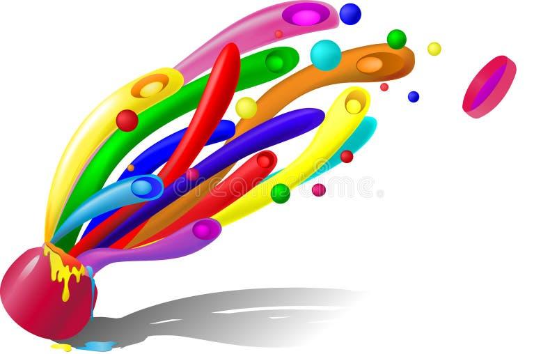 Download Abstrakcjonistyczni Kształty Ilustracja Wektor - Obraz: 22232937