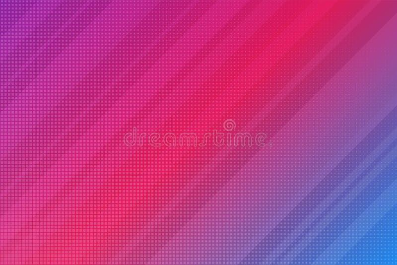 Abstrakcjonistyczni Nowożytni lampasy Wykładają purpur i menchii gradient Wektorowy tło ilustracji