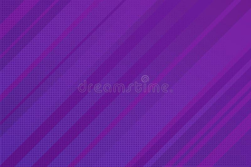 Abstrakcjonistyczni Nowożytni lampasy Wykładają purpur i menchii wektor ilustracji