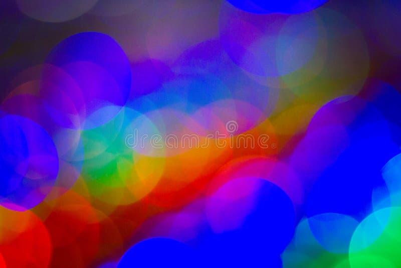 Abstrakcjonistyczni plamy bokeh okręgi używają mnie tekstury tło fotografia royalty free