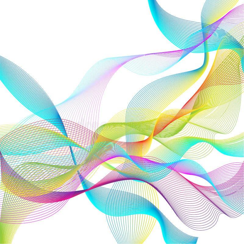 abstrakcjonistyczni położenie tła ilustracji
