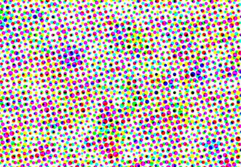 Abstrakcjonistyczni stubarwni maluj?cy mozaik t?a ilustracja wektor
