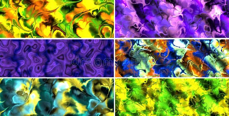 Download Abstrakcjonistyczni Sztandary Ilustracji - Ilustracja złożonej z tła, sieć: 13336124