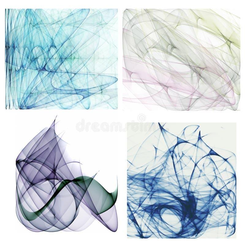 abstrakcjonistyczni tła ilustracji