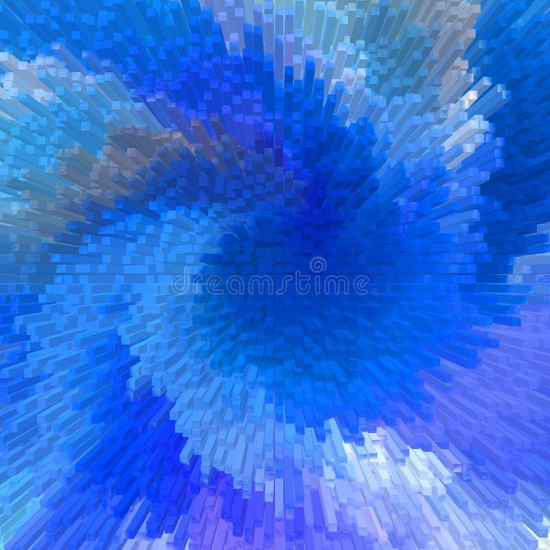 abstrakcjonistyczni tło bloków ilustracja wektor