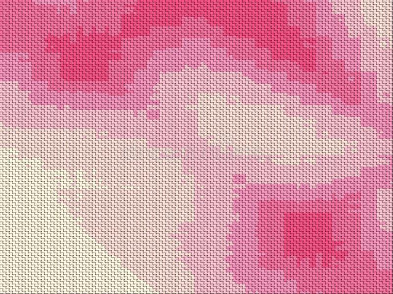 Abstrakcjonistyczni tkaniny tekstury t?a obrazy royalty free