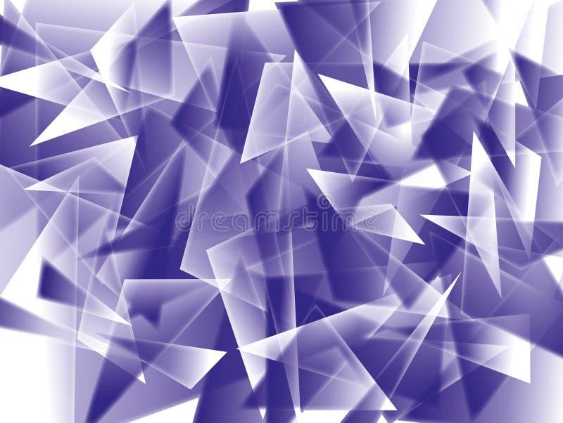abstrakcjonistyczni trójboki royalty ilustracja