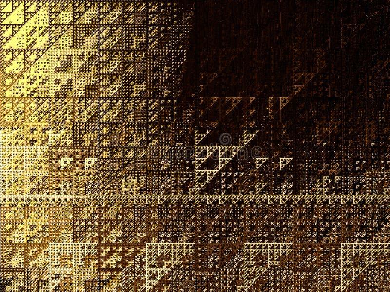 Abstrakcjonistyczni trójkąty tło