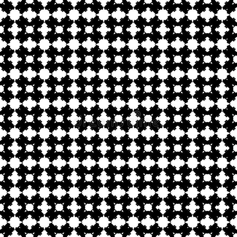Abstrakcjonistyczni wektorowi czarny i bia?y cz?stotliwi wzory, ilustracji