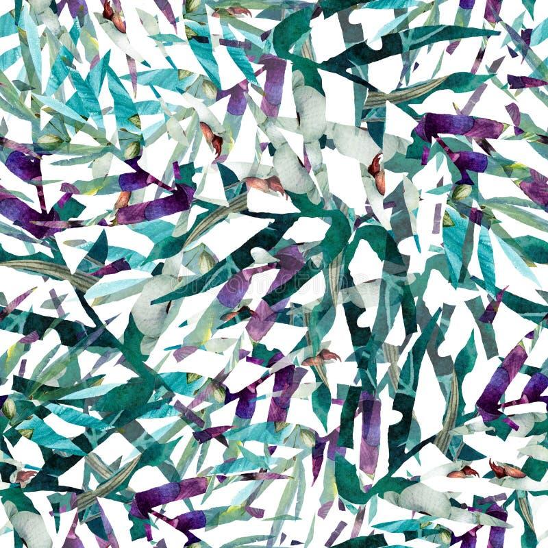 Abstrakcjonistyczni zebra lampasy royalty ilustracja