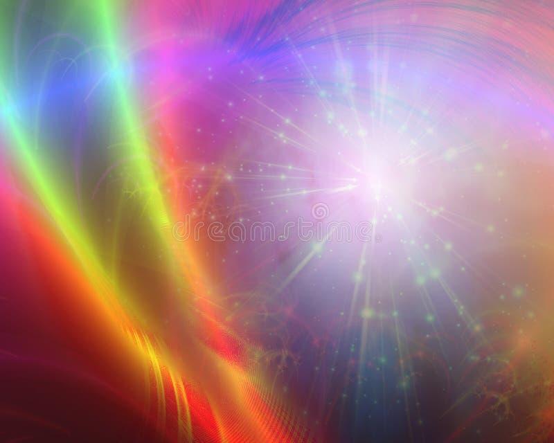 abstrakcjonistyczny światło ilustracji