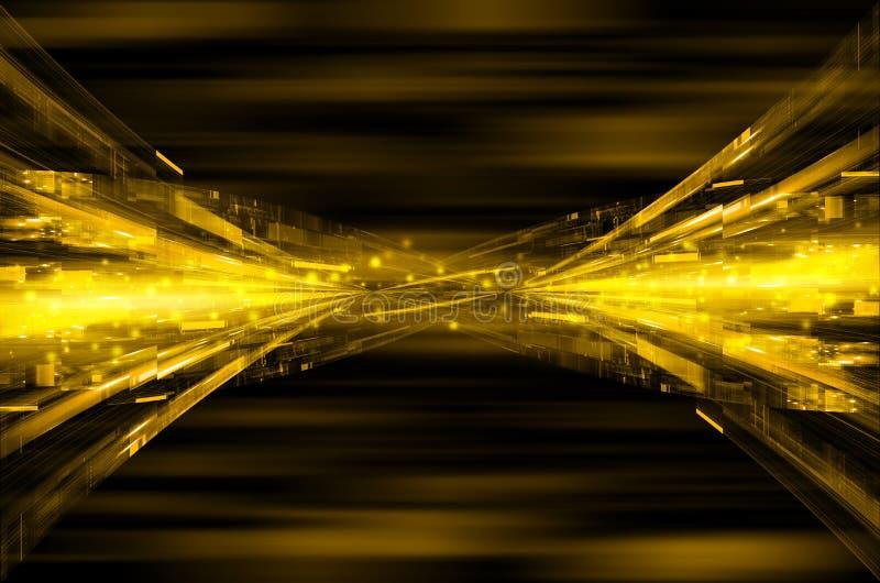 Download Abstrakcjonistyczny żółty Techniki Tło Ilustracji - Ilustracja złożonej z wyznaczający, element: 53781316