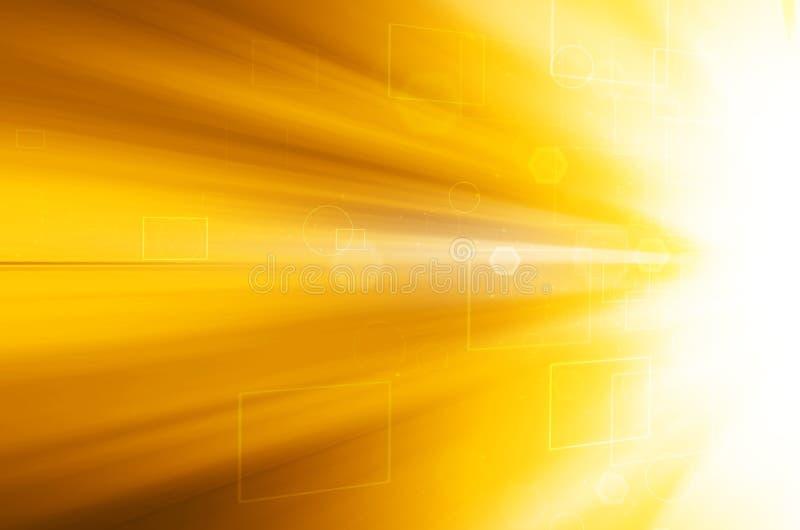 Download Abstrakcjonistyczny żółty Technologii Tło Ilustracji - Ilustracja złożonej z nowożytny, zmrok: 53781013