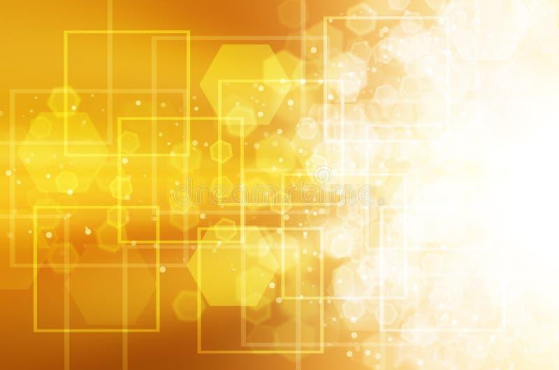 Download Abstrakcjonistyczny żółty Technologii Tło Ilustracji - Ilustracja złożonej z tło, matryca: 53781509