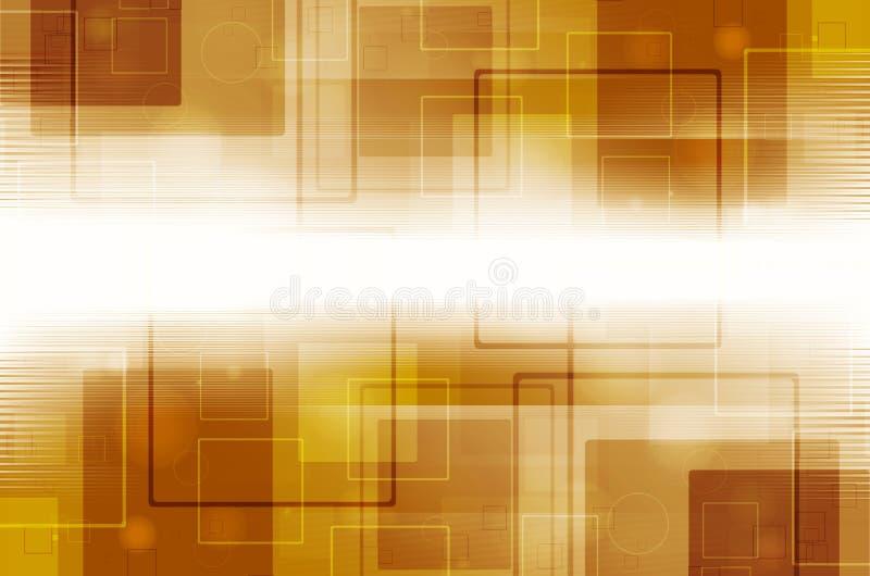 Download Abstrakcjonistyczny żółty Technologii Tło Ilustracji - Ilustracja złożonej z nowożytny, griddle: 53783608