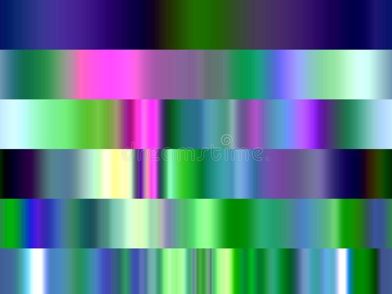 Abstrakcjonistyczny żywy błękitnej zieleni menchii lśnienie wykłada geometrie, abstrakcjonistyczne grafika ilustracja wektor