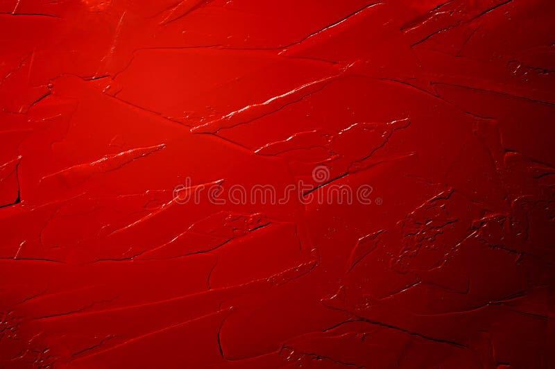 Download Abstrakcjonistyczny Akrylowy Czerwony Tło Ilustracji - Ilustracja złożonej z strona, czerwień: 57672624