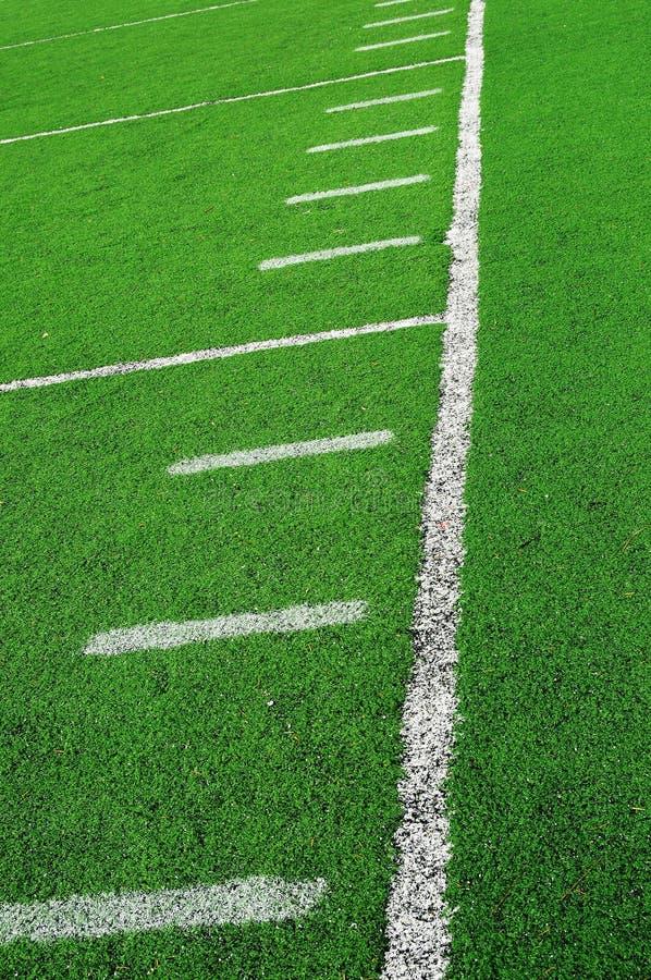 abstrakcjonistyczny amerykanina pola futbol fotografia stock