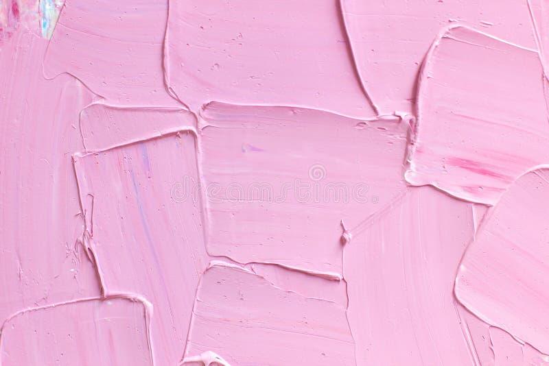 Abstrakcjonistyczny atristic nafciany tło Oleje na kanwie zdjęcia stock