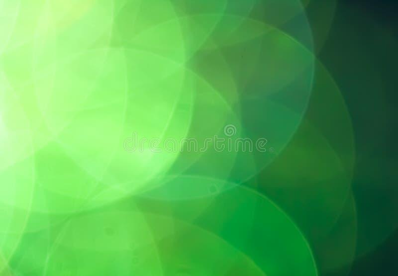 Abstrakcjonistyczny błękitnego i zielonego koloru tło obrazy stock