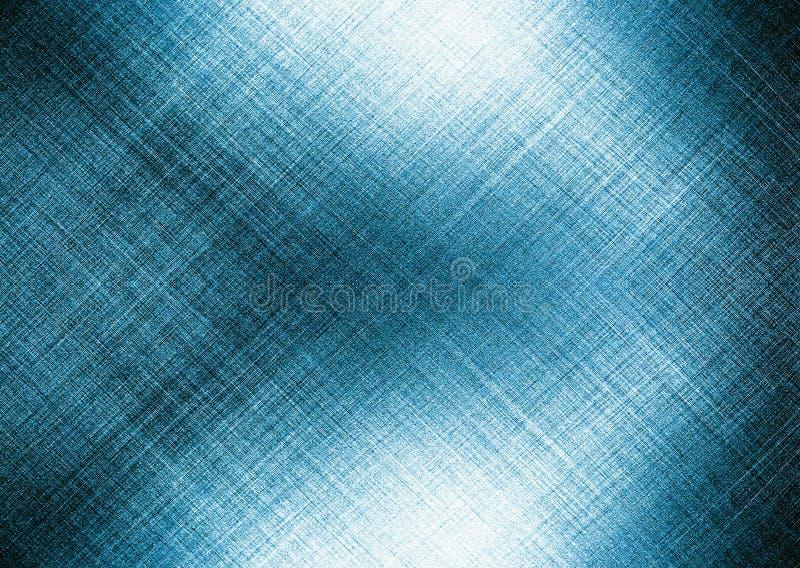 Abstrakcjonistyczny błękitny fractal tworzący od linii ilustracji