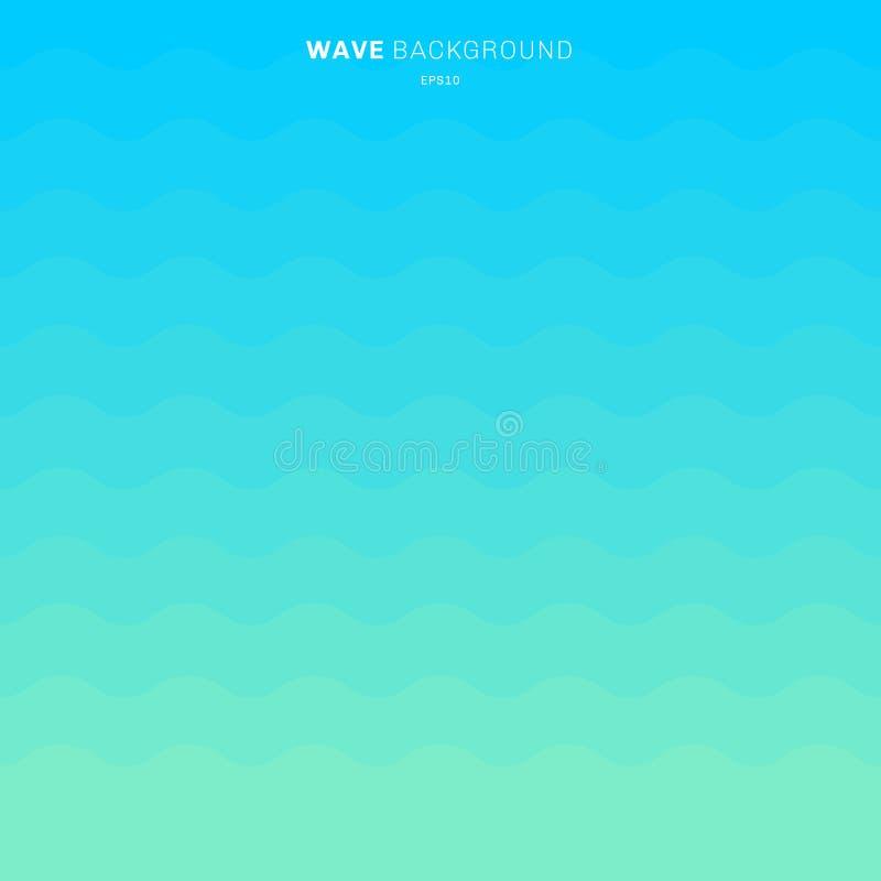 Abstrakcjonistyczny błękitny gradientowy kolor macha lampasa deseniowego tło dla projekta ilustracji