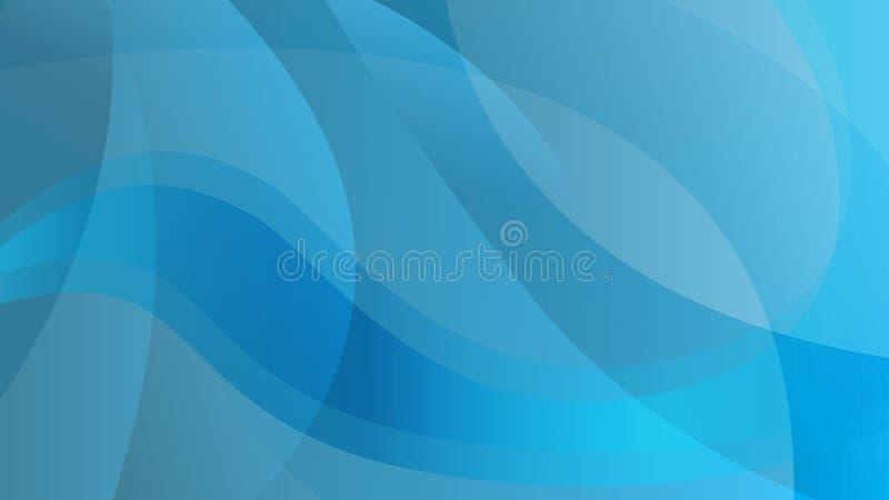 Abstrakcjonistyczny błękitny kolor technologii tło royalty ilustracja