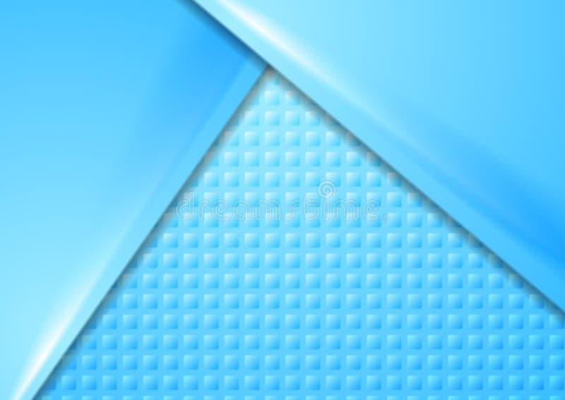 Abstrakcjonistyczny błękitny materialny korporacyjny tło royalty ilustracja