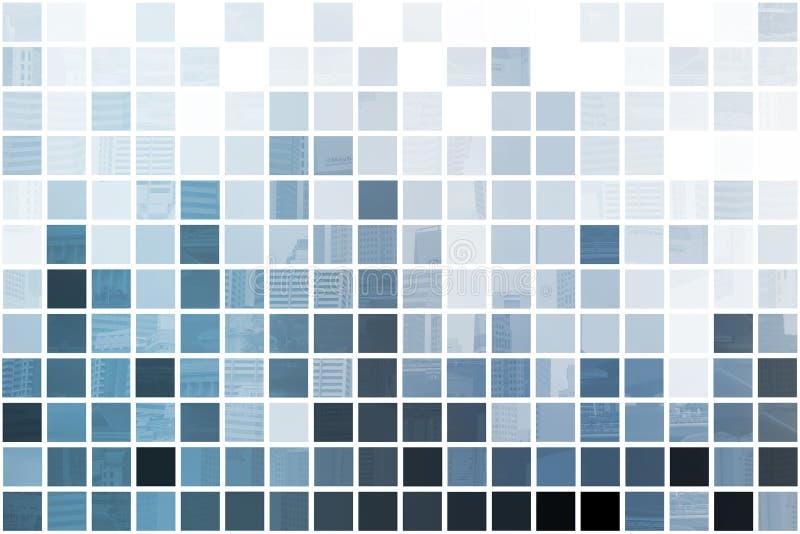 abstrakcjonistyczny błękitny minimalistyczny symplicystyczny ilustracja wektor