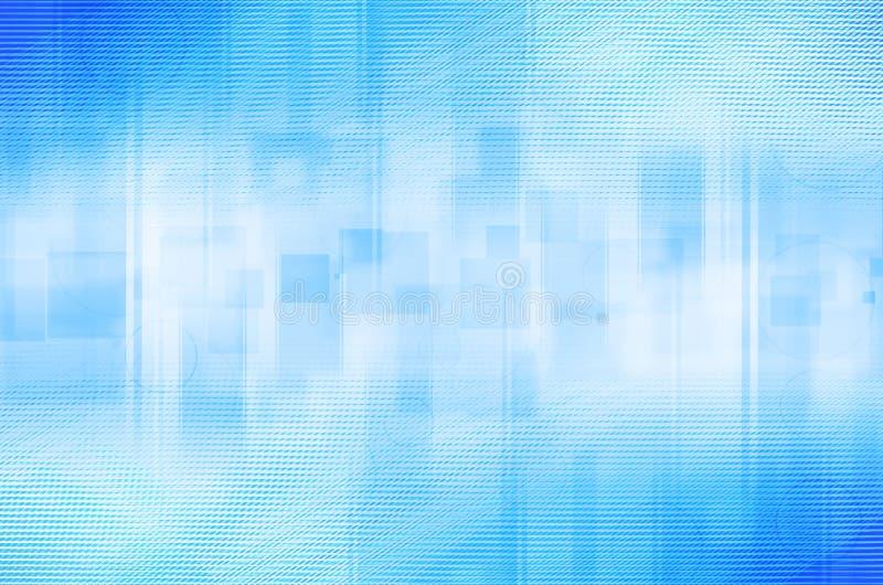 Download Abstrakcjonistyczny Błękitny Okręgu I Kwadrata Tło Ilustracji - Ilustracja złożonej z okrąg, digitalis: 53782293